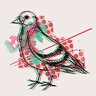 Party Pigeon by robotswan