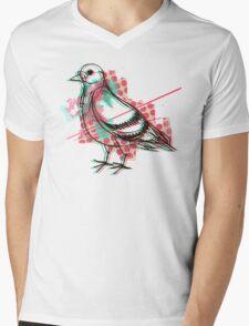 Party Pigeon Mens V-Neck T-Shirt