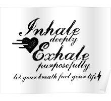 Yoga Breath Poster