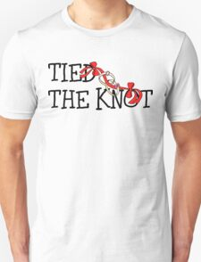 Tied The Knot Just Married Unisex T-Shirt
