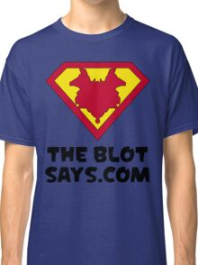 The Blot Shield (Black) Classic T-Shirt