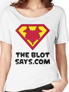 The Blot Shield (Black) Women's Relaxed Fit T-Shirt