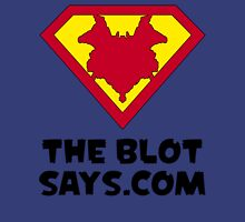 The Blot Shield (Black) Unisex T-Shirt