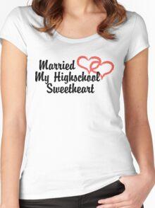 Married Highschool Sweetheart Women's Fitted Scoop T-Shirt