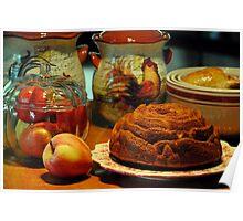 Pumpkin Cake Poster