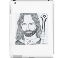 Aragorn King of Gondor iPad Case/Skin