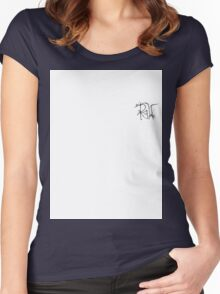 Initials  Women's Fitted Scoop T-Shirt