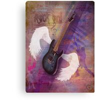 Music Is In MY Soul Canvas Print