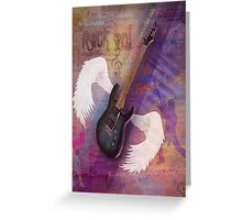 Music Is In MY Soul Greeting Card