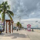 Woodes Rodgers Walk in Downtown Nassau, The Bahamas by 242Digital