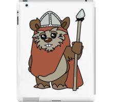 Shakespearean Star Wars: Ewok Knight iPad Case/Skin