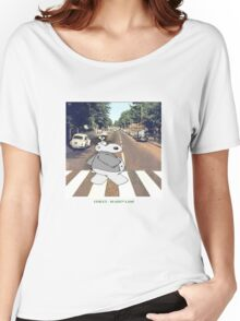 Chicot the Hippo, Classic Album - Shabby Lane Women's Relaxed Fit T-Shirt
