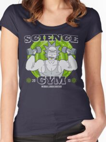 Science Gym Women's Fitted Scoop T-Shirt