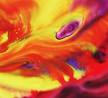 Vibrant Sensation Vivid Abstract IV by Irina Sztukowski