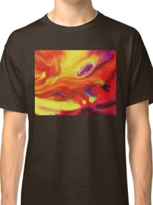 Vibrant Sensation Vivid Abstract IV Classic T-Shirt