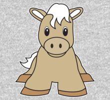 pony cute animal One Piece - Long Sleeve