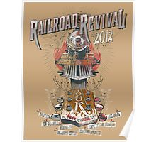 2012 Railroad Revival Poster