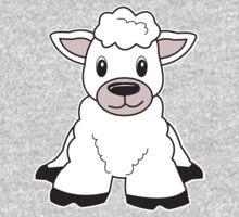 sheep cute animal One Piece - Long Sleeve