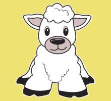 sheep cute animal Kids Clothes