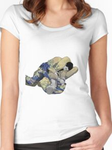 The Ground is my Ocean Women's Fitted Scoop T-Shirt