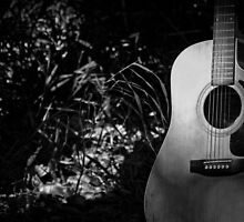Music Nature: Guitar 1 by RedKitchen