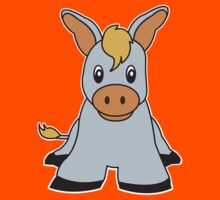 donkey cute animal Kids Clothes