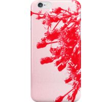 Red Wildflower iPhone Case/Skin
