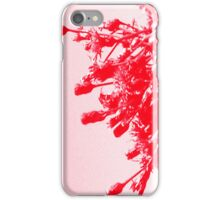 Red Wildflower iPhone Case/Skin