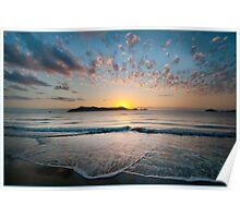 Sunrise, South Mission Beach,FNQ. Poster