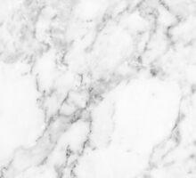 White Marble Sticker