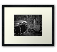 Music Nature: Snare 1 Framed Print
