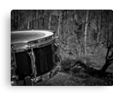 Music Nature: Snare 1 Canvas Print