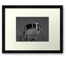 Music Nature: Snare 3 Framed Print