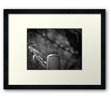Music Nature: Microphone 1 Framed Print