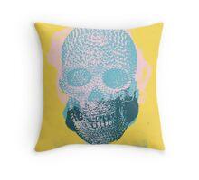 Skull IV Throw Pillow