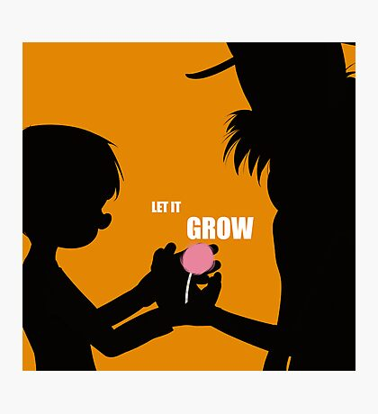 Let It Grow Photographic Print