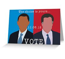 2012 Election Greeting Card