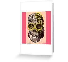 Skull VII Greeting Card