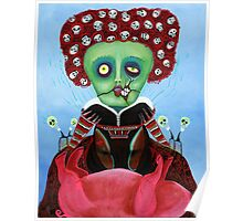 Iracebeth of Crims - Red Queen - A Warm Pig Belly Poster