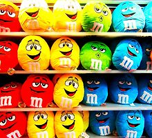 M&M Pillows by SkatingGirl