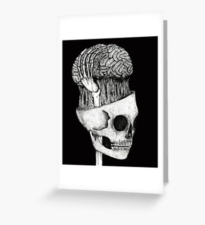 brains  Greeting Card