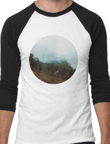 Park Butte Lookout - Washington State Men's Baseball ¾ T-Shirt