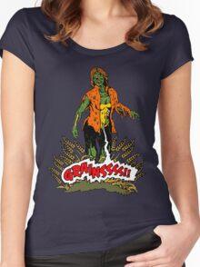 Zombie Vegan Women's Fitted Scoop T-Shirt