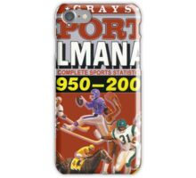 BTTF GREYS SPORTS ALMANAC iPhone Case/Skin