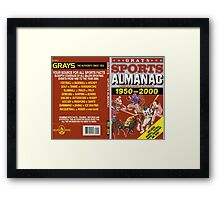 BTTF GREYS SPORTS ALMANAC Framed Print
