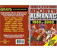 BTTF GREYS SPORTS ALMANAC Photographic Print