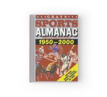 BTTF GREYS SPORTS ALMANAC Hardcover Journal