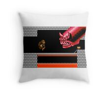 Super Rampage Contra Throw Pillow