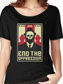 End The Oppression Women's Relaxed Fit T-Shirt