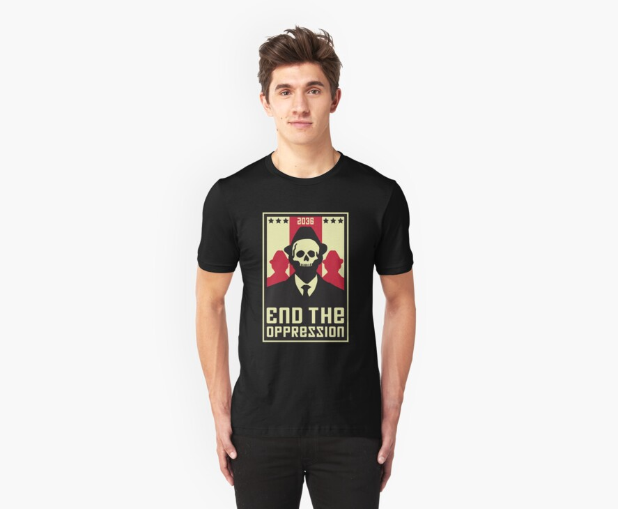 End The Oppression by DetourShirts
